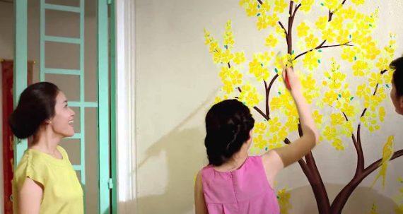 Làm đẹp căn nhà đón tết bằng lựa chọn màu sơn