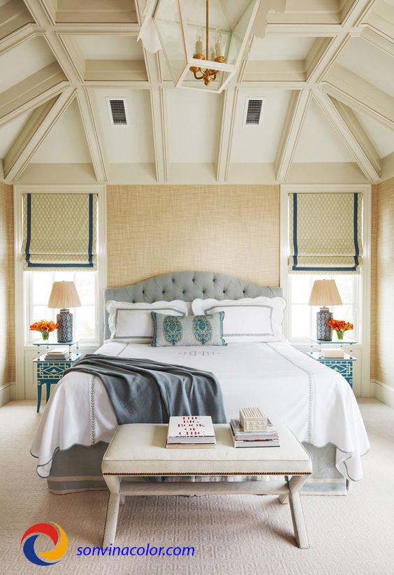 Lựa chọn màu sơn nội thất Vinalex cho phòng ngủ