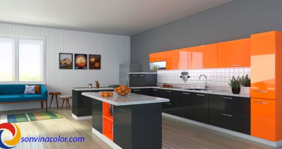 Làm thế nào để lựa chọn màu sơn nội thất đẹp cho các phòng trong ngôi nhà bạn