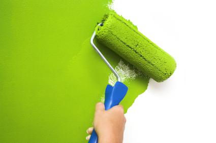 Quy trình sơn nhà mới, sửa chữa nhà cũ