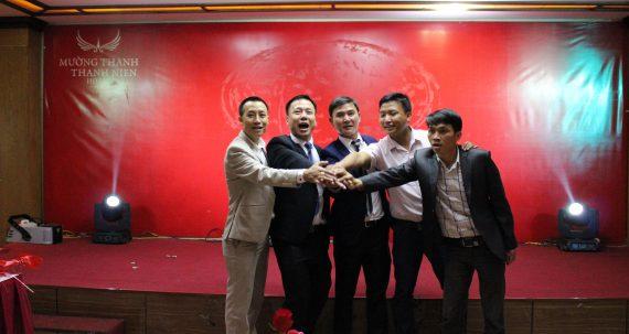 """Không khí """"Khai xuân"""" đầu năm 2017 công ty TNHH Sơn Vinalex"""