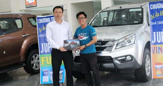 Chương trình tri ân khách hàng quý I/2017 cùng Công ty Cổ phần Sơn Jupiter Việt Nam