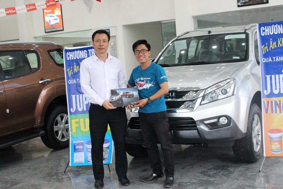 Tri ân khách hàng quý I/2017 tại CTCP Sơn Jupiter Việt Nam