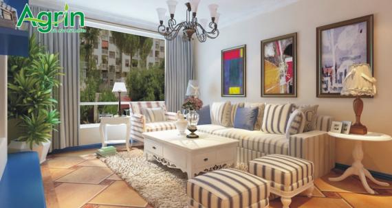 Phong cách nội thất Địa Trung Hải cực cuốn hút