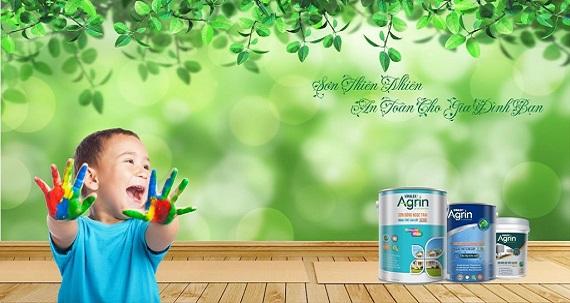 Ưu điểm vượt trội của sơn Agrin – sơn công nghệ xanh
