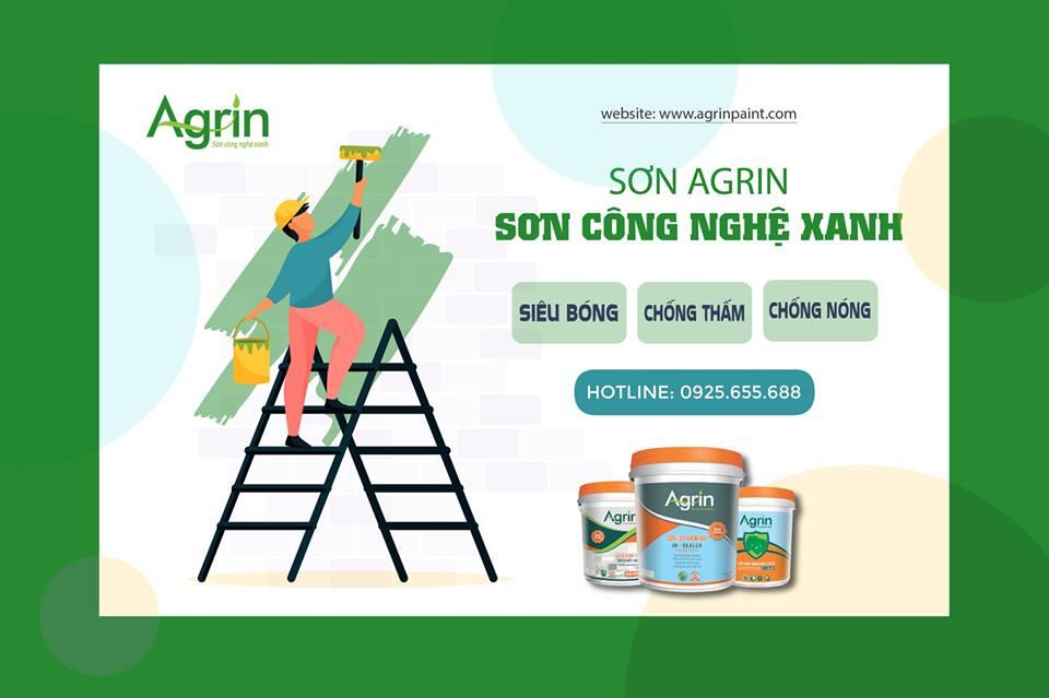 Đại lý sơn nước tại Nghệ An | Đại lý sơn Agrin
