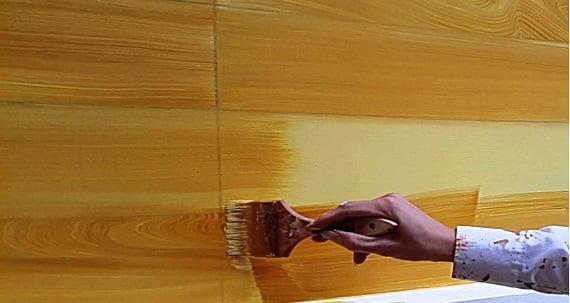 Quy trình thi công sơn giả gỗ Agrin