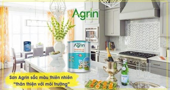 Tại sao nên lựa chọn thương hiệu sơn Agrin