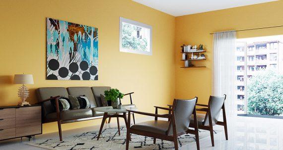 Cách phân biệt sơn nội thất và sơn ngoại thất
